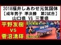 国体 卓球 2018 平野友樹(協和発酵キリン) vs 菅沼湧輝(明治大学)【成年男子 準決勝…