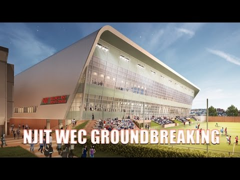 NJIT Breaks Ground on the Wellness and Events Center