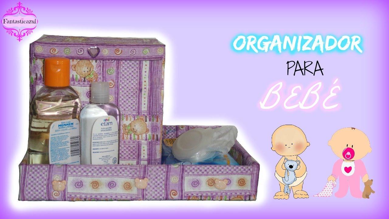 Organizador para beb por fantasticazul youtube - Cambiador de bebe de pared ...