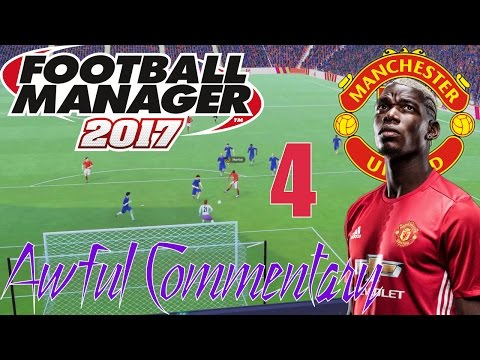 FM17 Manchester United Lets Play - 04 Manchester Derby and October's Fixtures