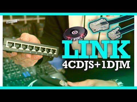 LINK 4 CDJS + 1 DJM