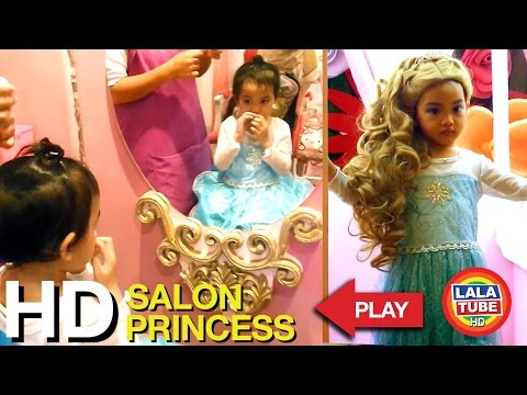 ★ Lala Makeover & Baju Princess Elsa - Royal Princess Salon - Pondok Indah Mall ★