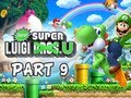 New Super Luigi U Gameplay Walkthrough - Part 9 Let's Play Wii U