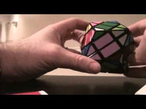 Lanlan 4 layer rhombic dodecahedron tutorial part 3