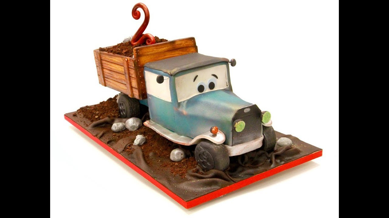 Vintage Dump Truck Birthday Cake Youtube