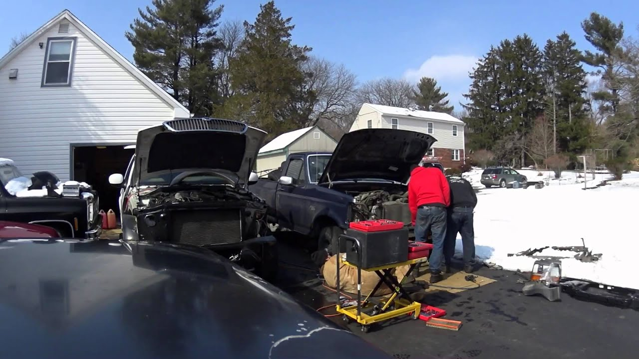 Joes Radiator Support Replacement F150