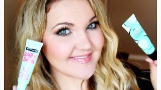 NEW MAYBELLINE BABY SKIN VS. BENEFIT POREFESSIONAL| DEMO + REVIEW