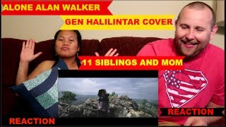Video Alone - Alan Walker | GEN HALILINTAR (COVER) 11 Siblings and Mom REACTION VIDEO!! download MP3, 3GP, MP4, WEBM, AVI, FLV Agustus 2018
