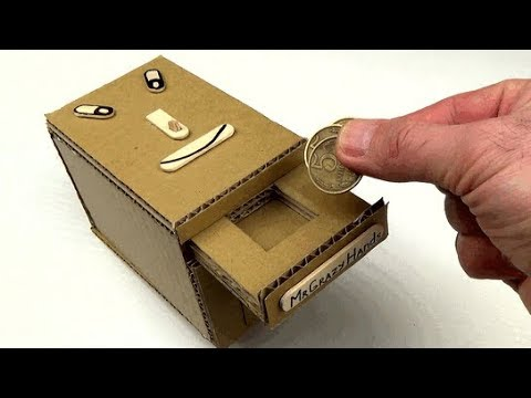 How to Make Personal Coin Bank Box