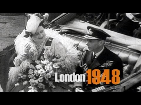 London 1948 - the famous sights - city roundtrip
