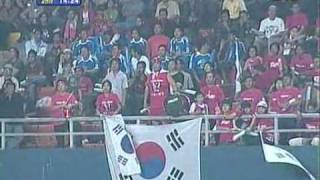AFCアジアカップ2007 - 韓国の選手、監督らの退場シーン