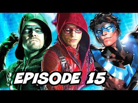 Arrow Season 6 Episode 15 Roy Harper and Titans TV Show