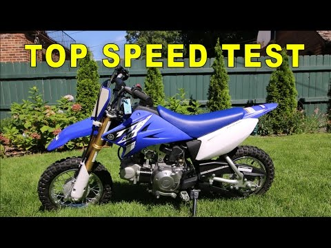 2015 Yamaha TTR 50 Top Speed (GPS VERIFIED)