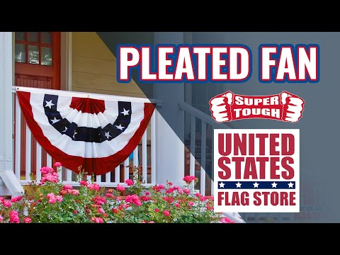 Pleated Fan - United States Flag Store