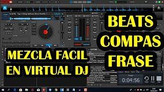 COMO MEZCLAR EN VIRTUAL DJ LO BASICO PARA MEZCLAR MUSICA