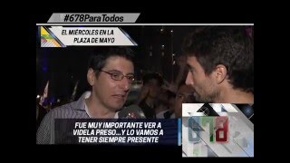 Multitudinaria despedida a Cristina Fernandez de Kirchner - 678