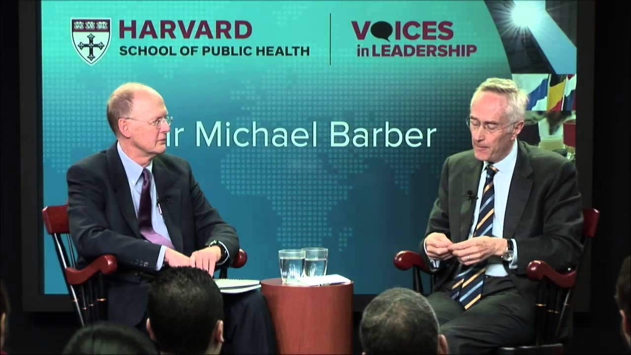 Leading to Deliver for Successful Government | Sir Michael Barber ...