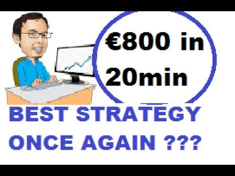 BINARY OPTIONS: Best Strategy in ACTION (here we go.........!!!!!!!!!!!!!!!)