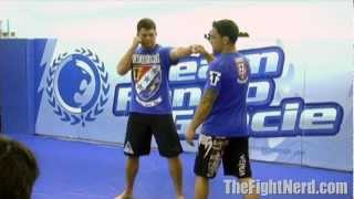 Frankie Edgar shows you how to slip a jab