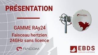 Liaison point-à-point avec le Ray24 de RACOM