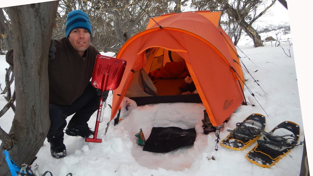Snow Camping Tips and Tricks - YouTube