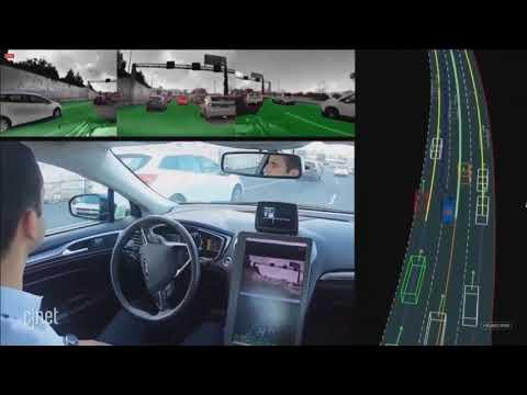 Mobileye - Aggressive Lane Change In Dense Traffic (Using Reinforcement Learning)