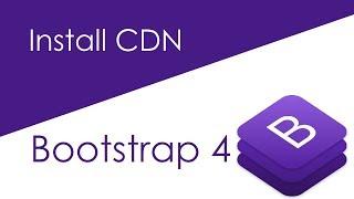 vuclip Bootstrap 4 Download and Install CDN (Hindi)