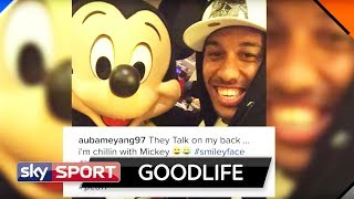 Maskenmann Aubameyang chillt mit Mickey Mouse | Goodlife #28 - Bundesliga-Stars and Lifestyle