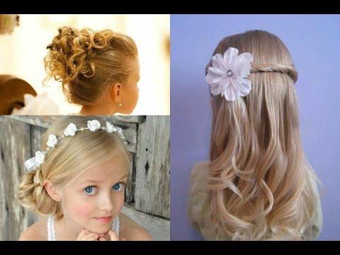 Peinados Para Ninas Para Eventos Especiales Bodas Comuniones - Peinados-para-un-bautizo-de-dia