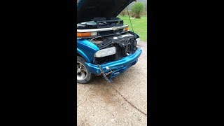 How To Fix a Wrecked S10 (Rednecktified with a log chain)