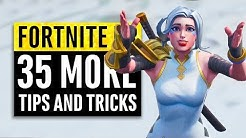Fortnite | 35 More Tips and Tricks from the Pros