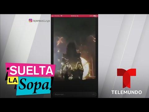 Paulina Rubio sufre tremenda caída en pleno concierto | Suelta La Sopa | Entretenimiento
