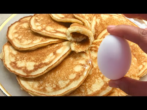 avec-un-oeuf-🥚!-recette-facile-de-crêpe-ou-pancake-moelleux-/-easy-fluffy-pancake