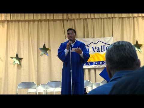 Jeremy's Golden Valley Charter Graduation speech 2014