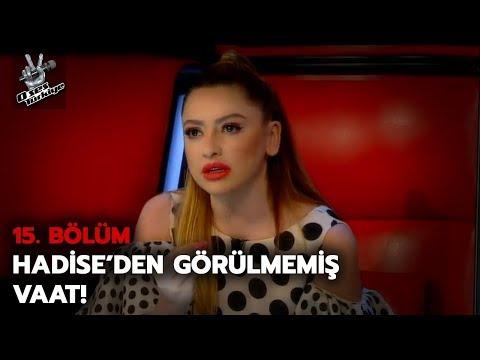 Hadise'den çılgın vaat! Stüdyoda herkesin ağzı açık kaldı... | O Ses Türkiye 2018