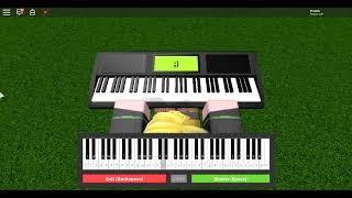 Creeper... Awww man... (Revenge) On Roblox Piano!