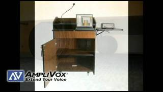 Multimedia Presentation Plus Podium from AmpliVox