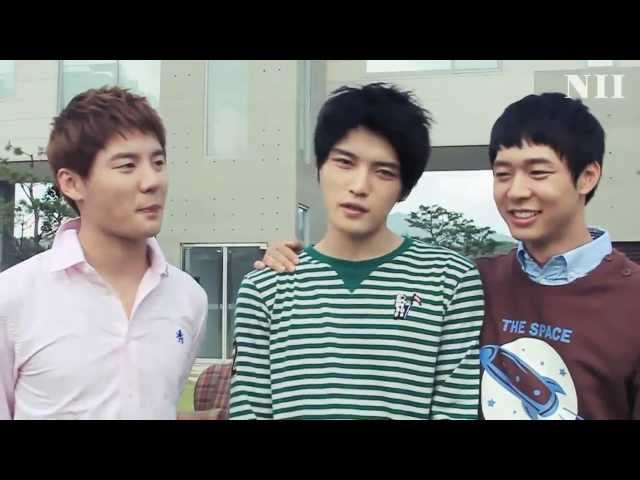 2011 FALL NII COLLECTION   making film  with JYJ [*ADDED eng subs]