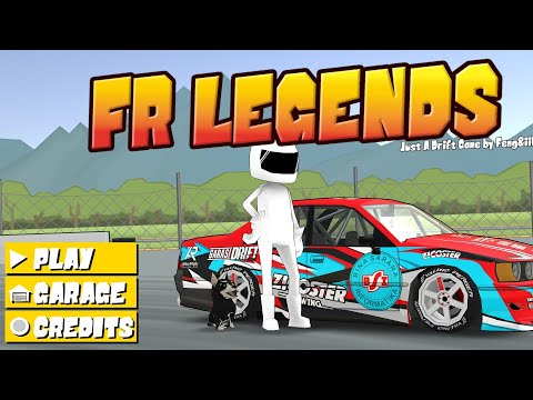 Cara Pasang Mod Livery Garasi Drift FR Legends - YouTube