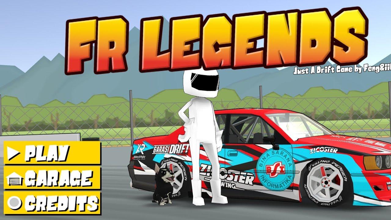 Cara Pasang Mod Livery Garasi Drift Fr Legends Youtube