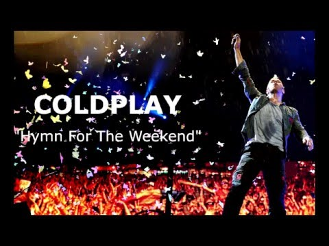 Coldplay   Hymn For The Weekend Lyric