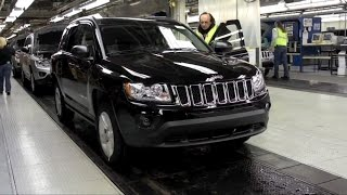 Dodge Dart and Jeep Compass production at the Belvidere Assembly Plant