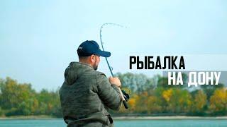 Рыбалка на Дону на фидер осенью. Сильное течение лещ карась рыбец. Багаевская