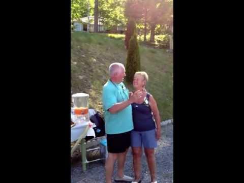 Glenn & Sandra 50th Anniversary - We think you should kiss!