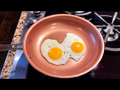 "California Home Goods 9.5"" Non-Stick, Ceramic Titanium Blend, CermiTech Frying Pan review"