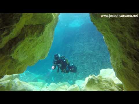 Wonderful new underwater landscape at Dwejra