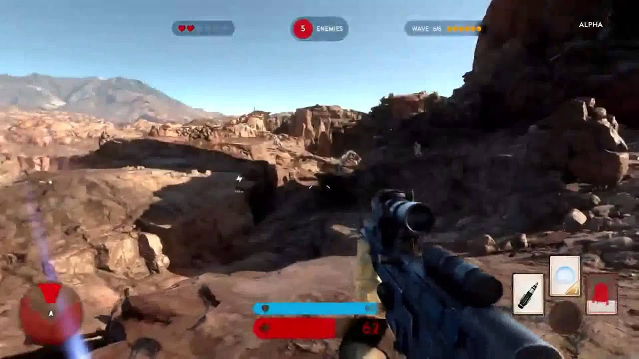 Star Wars Battlefront 3 PC vs PS4 Gameplay Tatooine - YouTube