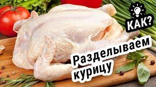 Как правильно разделать курицу (Инструкция)