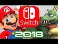 Nintendo Switch's 2018 before Smash and Pokemon