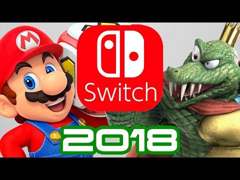 Nintendo Switchs 2018 before Smash and Pokemon